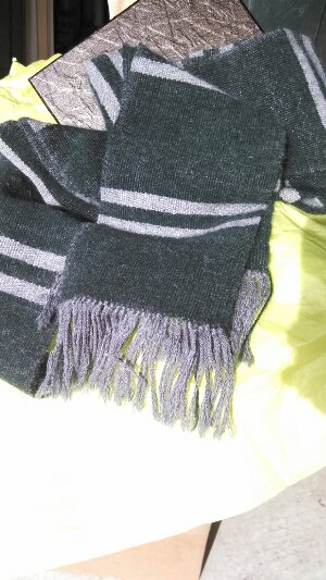 The Adult Slytherin Scarf